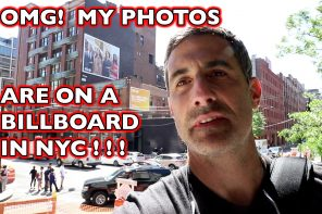 OMG My Photos Are On a Billboard in NYC!  VLOG