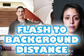 Flash Basics:  Subject to Background Distance
