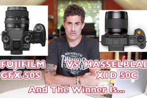 Fuji GFX 50s vs Hasselblad X1D 50C And The Winner Is…