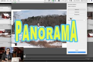 How To Make A Panorama In Lightroom!